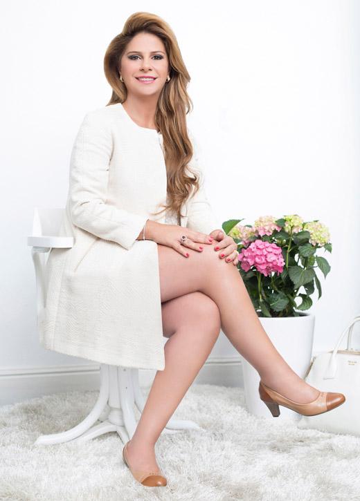 אשת העסקים ענבל אור פרזנטורית לרשת ליידי קומפורט