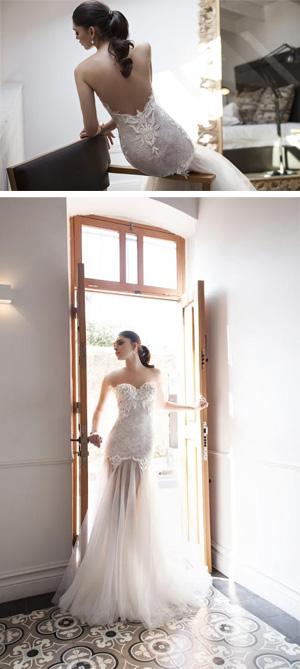 קולקציית לוריין לשמלות כלה של המעצבת ריקי דלאל