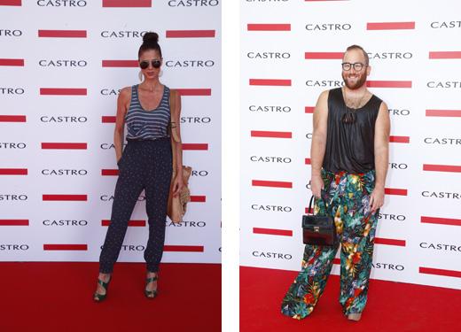 תצוגת אופנה קסטרו - יונית יודקביץ ויואב מאיר. צילום: אלירן אביטל