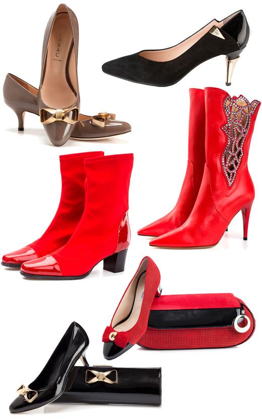 לאפייט - נעליים לוולנטיינ'ס דיי 2013. צילום: שי יחזקאל