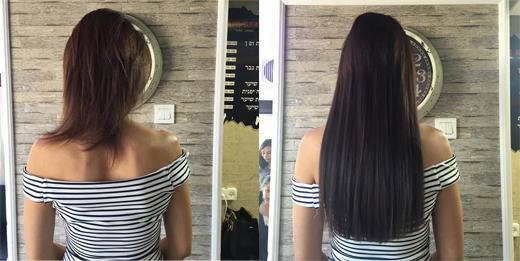 הארכת שיער בלייזר - הייר ביטוי
