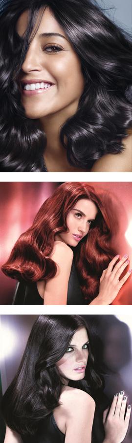 L'OREAL PARIS מציגה את קולקציית צבעי השיער - Glossy Blacks. צילום: מוטי פישביין