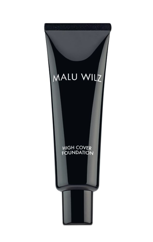 malu wilz High Cover Foundation צילום יחצ
