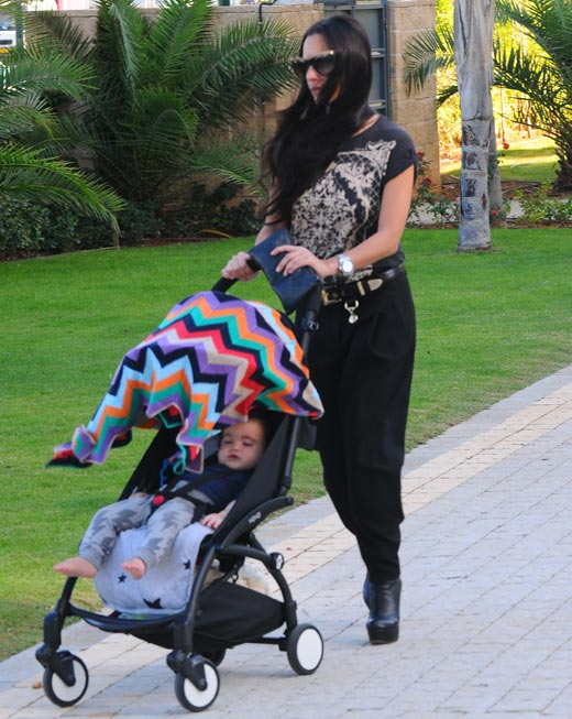 מאיה בוסקילה ובנה לני