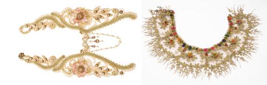 מיכל נגרין בקולקציית תכשיטים לקיץ 2012. צילום: יואב רונשטיין