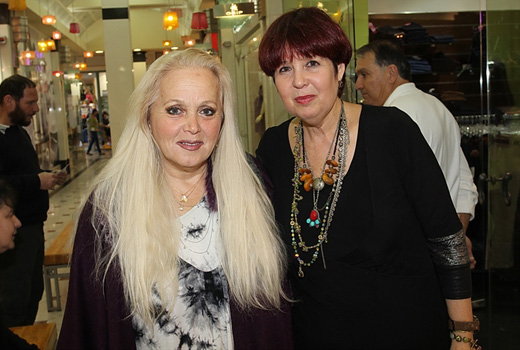 נפרטיטי - השקת קולקציית 2012 - עדנה פז ומירי אלוני. צילום: אביב חופי.