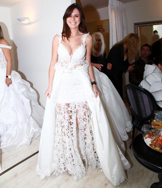 נלה מהיפה והחנון בשמלת כלה, צילום: פזית גואטה
