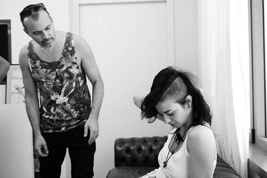 נינט בקמפיין לסתיו חורף 2012/13 של דלתא. צילום: יריב פיין וגיא כושי