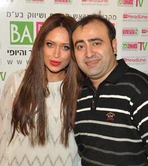 נשיא OMC ישראל - רומן רובין עם אביבית בר זוהר. צילום: אוהד אסור לפורטל בראש.