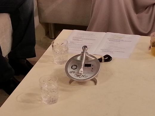משה אלול ומכשיר אורון 57 – אצל אורנה דץ