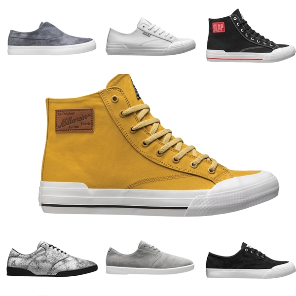 HUF FOOTWEAR COLLECTION צילום יחצ חול