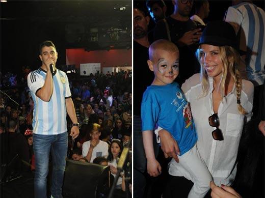 וסלבריטאים הגיעו להאנגר 11 כדי לחגוג עם מאות ילדים חולי סרטן במסיבת פורים הגדולה של עמותת להושיט יד
