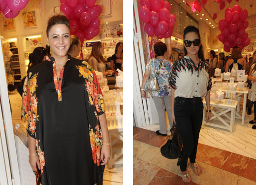 ללין לקראת חודש המודעות לסרטן השד - נסרין ואנה הארונוב. צילום: רפי דלויה