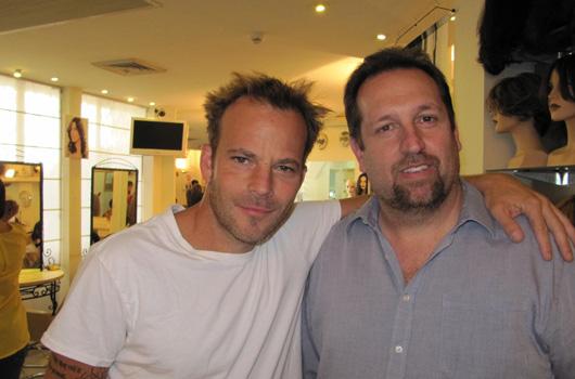 הוליווד בישראל - סטיבן דורף עם אמיר זהבי