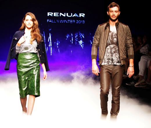 רנואר - תצוגת אופנה סתיו חורף 2012-13. צילום: אלירן אביטל   קובי בכר.