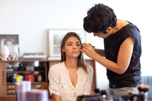 רוסלנה רודינה במגזין האופנה טרנדי. צילום: דודי חסון