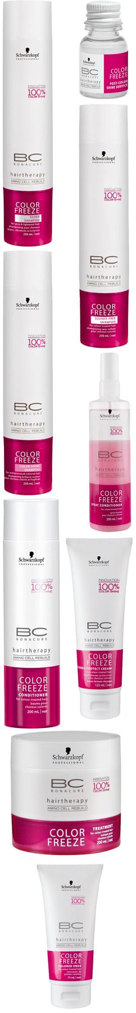 שוורצקופף פרופשיונל - BC Color Freeze