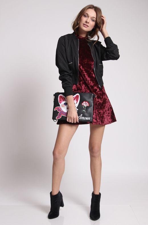 שמלת קטיה איילנד - 219 ש״ח - 189 ש״ח | ג׳קט בומבר מרשל - 219 ש״ח - מחרי סייל 159 ש״ח צילום: רן יחזקאל