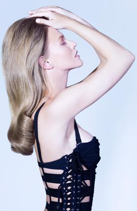 שחר מלכה - מראה שיער וולנטיי'נס דיי 2013. צילום: גיא כושי ויריב פיין.