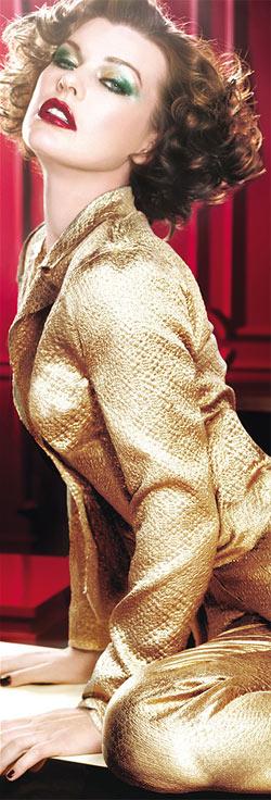 מראה זהב של לוריאל פריז לסילבסטר 2011