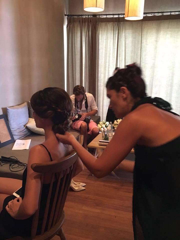 סיוון מדמוני, מעצבת השיער החיפאית, שגרירת שוורצקופף פרופשיונל