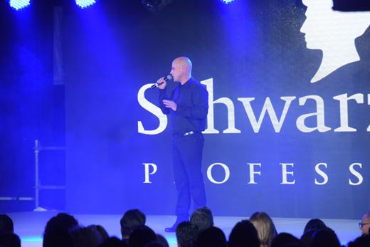 שמוליק כהן באירוע של שוורצקופף פרופשיונל ישראל