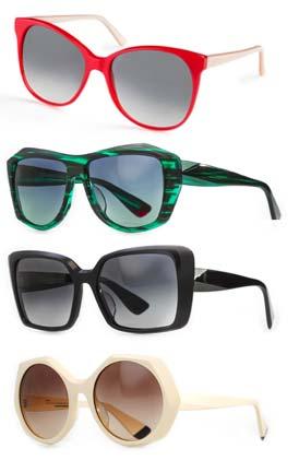 """טרנדים חובה לקיץ שובב וצבעוני למשקפי שמש 2015  """"ורובל אופטיק בוטיק""""- הבית  למותגי יוקרה בינלאומיים למשקפיים"""