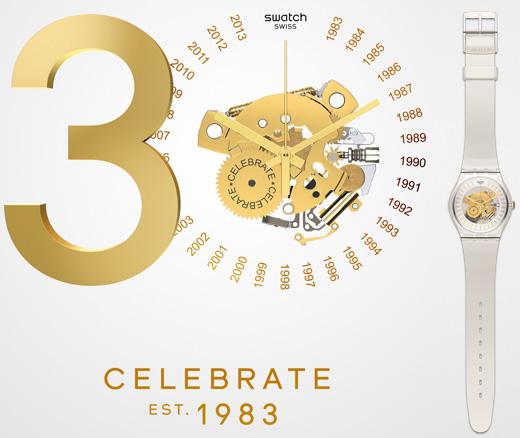 השעון דופק - 30 שנות סווטש