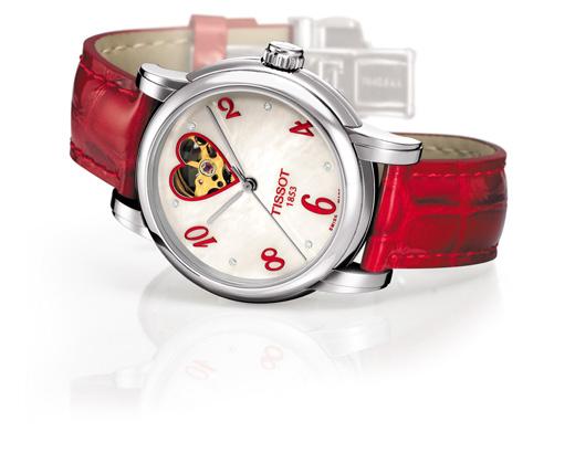 שעון TISSOT לוולנטיינ'ס דיי