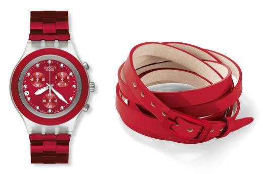"""לרגל ט""""ו באב – סווטש באוסף שעונים אדומים. צילום: יחצ חול"""