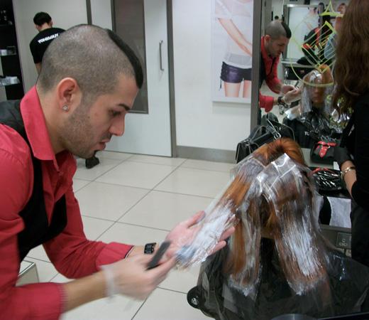 מעצבי שיער ישראלים אצל טוני וגיא