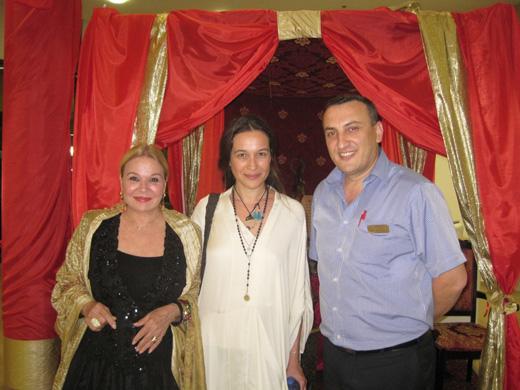 אלי אליאב עם יעל אבוקסיס. צילום: מיכל ללוש
