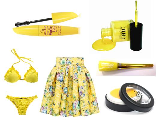 הטרנדים הצהובים של הקיץ