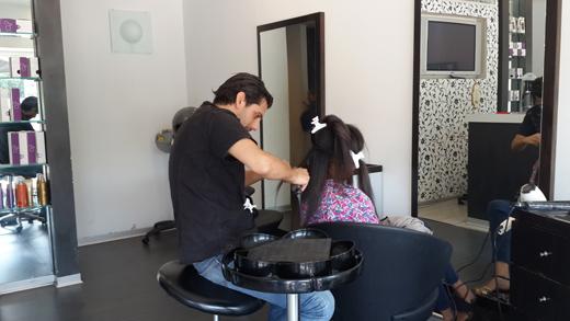 החלקה יפנית לשיער אתיופי