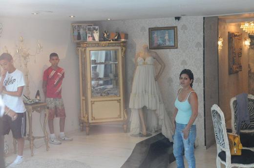 זהבה בן מתכוננת לבר מצוה של בן. צילום: ברק פכטר