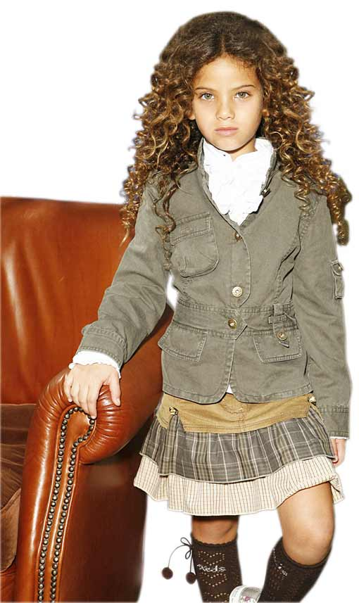 רשת קדס קידס מציגה :בגדי חג לילדות, מתוך קולקציית סתיו/חורף 08