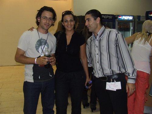 לימור לוי (הד-ליין) , שניר כחלני (עורך לה ז'ורנל) ודודו בלחנס (פורטל היופי הישראלי בראש