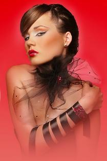 דוגמנית: קטיה טימופאייב