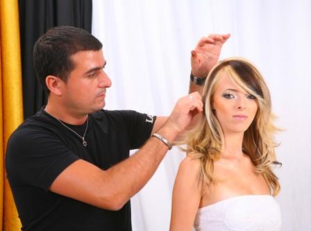 מעצב השיער יוסי לחברת מון פלטין