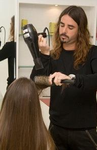 מעצב השיער שרון אוחיון IN ACTION