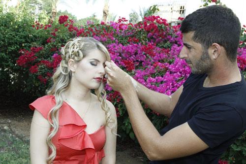 מעצב השיער אבישי רז פרץ בקולקציית חורף 2011-2012