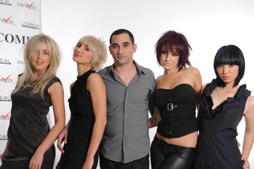 אודי ביטון - קולקציית עיצוב שיער חורף 2010