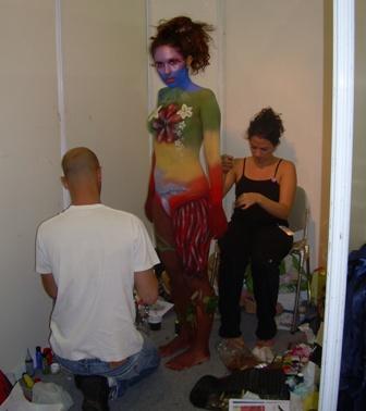 איפור גוף ביוטי פרו 2008 צילום:פורטל היופי הישראלי בראש
