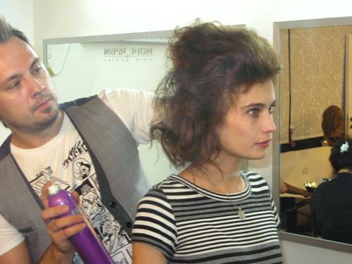 לוסי דובינצ'יק ורובין בזמן טיפול ב-CHI