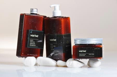 סדרת מוצרים טיפוח לשיער Marine