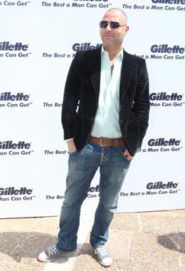 Gillette פופ-אפ - איציק זוהר. צילום: סיון פרג'.
