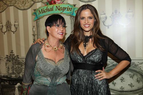 נועה תשבי וטלולה בונט באירוע פתיחת  החנות של מיכל נגרין