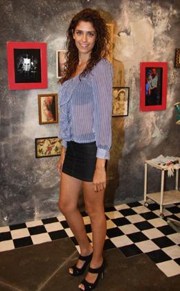 סלבס, בגדים ואמנות - אלה רן מלכת היופי 2011. צילום: אסף לב.