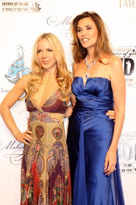 אופנה בהצדעה - אילנה שושן ושירלי ברנר.