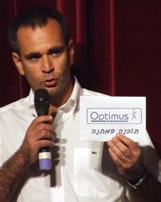 """יבגני, מנכ""""ל חברת Optimus Software"""